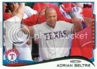 2014 Topps Series 1 Adrian Beltre #161