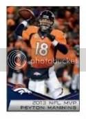 2014 Panini Sticker Album Peyton Manning
