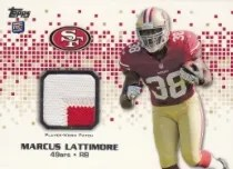 2013 Topps Rookie Patch RP-ML Marcus Lattimore San Francisco 49ers Football Card Verzamelingen