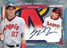2014 Topps Series 2 Mike Trout Strata