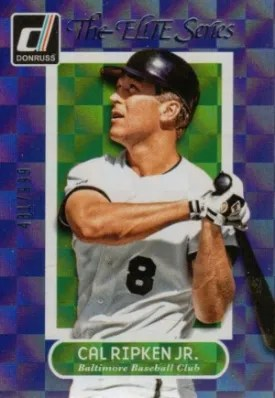 2014 Donruss Cal Ripken Jr Elite Series Insert
