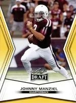 2014 Leaf Draft Picks Johnny Manziel