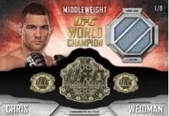 2014 Topps UFC Knockout Relic Cards