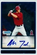 2009 Bowman Draft Mike Trout Auto