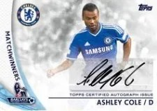 2013-14 Topps Soccer Autograph Cards