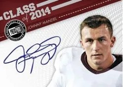 2014 Press Pass Showbound Johnny Manziel