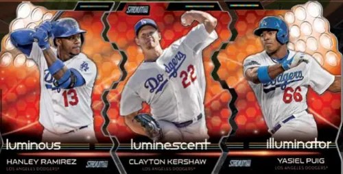 2014 Topps Stadium Club Triumvirates