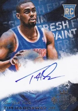 13-14 Panini Court Kings Fresh Pain Tim Hardaway Jr. Auto