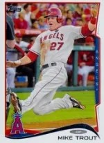 2014 Topps Series 1 Mike Trout