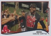 2014 Topps Series 1 David Ortiz Sp