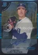 2005 Bowman Chrome Justin Verlander