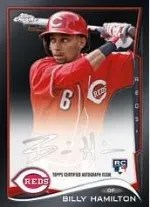 2014 Topps Chrome Billy Hamilton RC