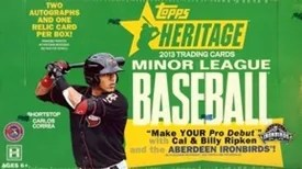 2013 Topps Heritage Minor League Baseball Box
