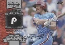 2013 Topps Chasing History #CH92 - Mike Schmidt