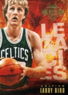 13/14 Panini Court Kings Legacies Larry Bird Insert