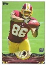2013 Topps Jordan Reed Variation RC