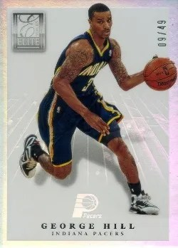 2012/13 Panini Elite Series Court Vision George Hill insert