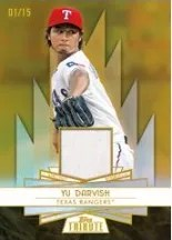 2014 Topps Tribute Yu Darvish Forever Young