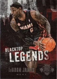 13/14 Panini Court Kings Blacktop Legends LeBron James