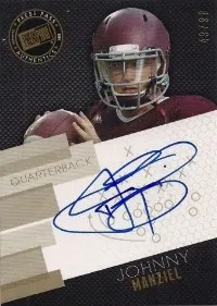 2014 Press Pass Johnny Manziel Auto Gold