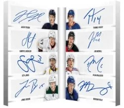 13-14 Contenders 8 Autograph Book Card