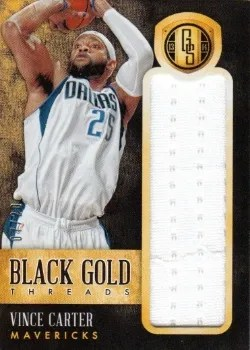 13-14 Gold Standard Vince Carter Black Gold