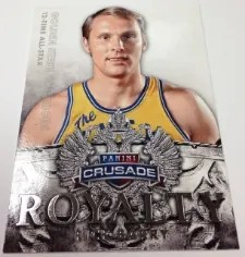 13/14 Panini Crusade Royalty Rick Barry