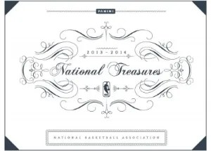 13/14 Panini National Treasures Basketball Box