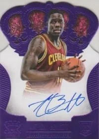 13/14 Panini Preferred Anthony Bennett Purple Auto
