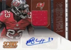 2014 Panini Hot Rookies Mark Barron Franchise Auto