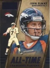 2014 Panini Hot Rookies All Time Franchise John Elway Insert