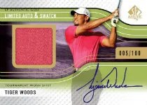 2012 Sp Authentic Tiger Woods Auto Shirt