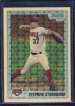 2010 Bowman Chrome Stephen Strasburg Superractor 1/1