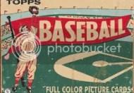 1954 Topps Baseball