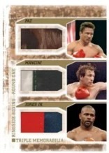 2010 Ringside Boxing Triple Memorabilia