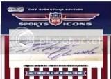 2010 Razor Sports Icons Roberto Clemente Cut Auto