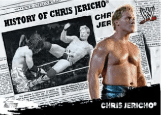 2010 Topps WWE History Of Chris Jericho