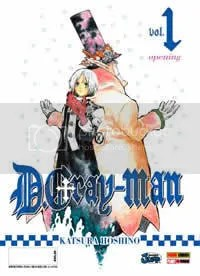 Capa do primeiro volume de D.Gray-man