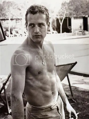Alpha-male Paul Newman exuded all kinds of bad-assedness. Not offense, Mr. Curtis, but come on.