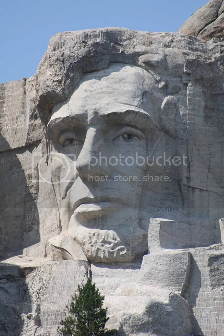 Abraham Lincoln, Mount Rushmore