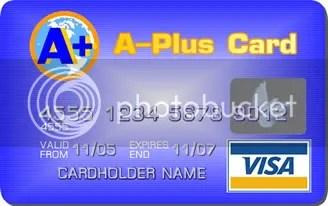 A Plus Card