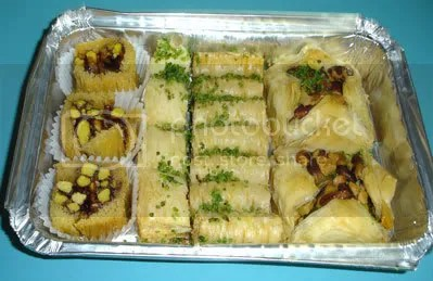 Give me more vegan Baklava and no one gets hurt!