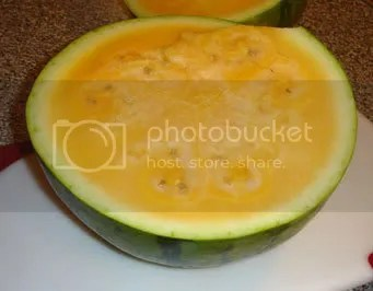 Orange Watermelon
