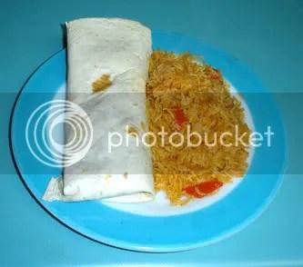 Black Bean and Avocado Burritos with Rice