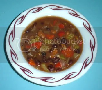 Vegan Hearty Black Bean Soup