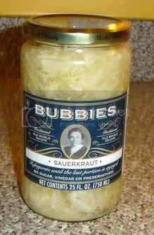 Bubbies' Sauerkraut