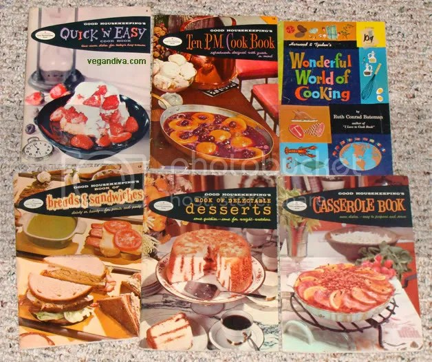 Vintage Cooking Booklets