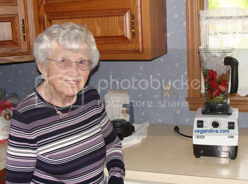 Grandma by the Vitamix
