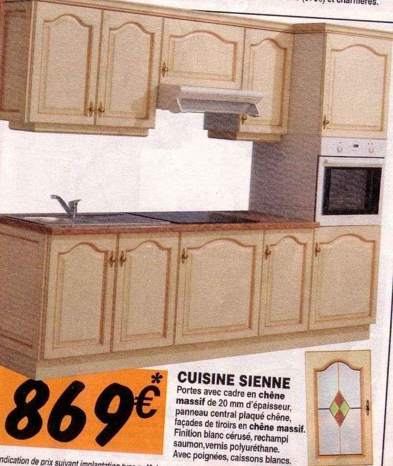 Qui A La Cuisine Sienne Ou Capri De Bricot Depot