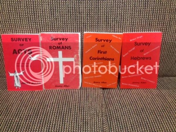 Jimmy Allen Survey Books